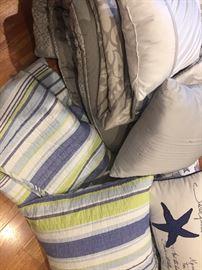 decorator pillows---dozens