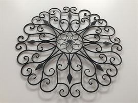 Decorative wall hanging.