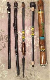 African sticks.