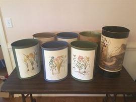 7 Decorative Trash Cans  https://www.ctbids.com/#!/description/share/7711