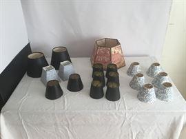 Lamp Shades  https://www.ctbids.com/#!/description/share/7728