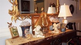 Nice Tole & Lenox Lamp