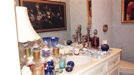 Oriental Panels & LOTS of Glass