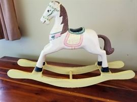 Beautiful Decorative Hand carved Rocking Horse
