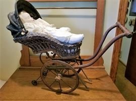 Antique Dolls Stroller in fantastic condition