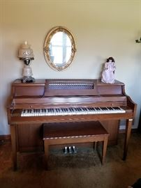Baldwin Console Upright Piano