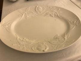 Italian Porcelain Oval Platter