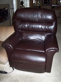 Leather Lift Chair