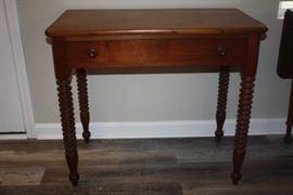 Antique Spindle Leg Table