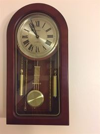 Tall case working clock