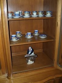 Tea cups, Franklin Mint and more.