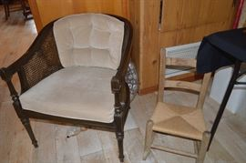 Chair, childs' chair