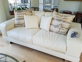 Bloomingdales Leather Sofa