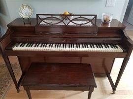 Baldwin Acrosonic Spinet Piano