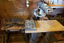 Dleta radial arm saw