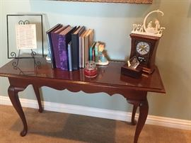 Side/Sofa table with Cabriole leg