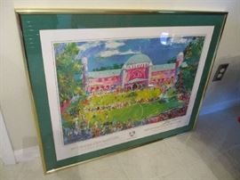 FRAMED LeRoy Neiman 39TH RYDER CUP (MEDINAH, ILLINOIS) SERIGRAPH