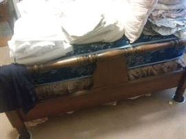 Cedar Chest and Linens