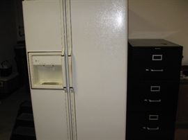 GE Side By Side, Four Drawer Filing Cabinet...
