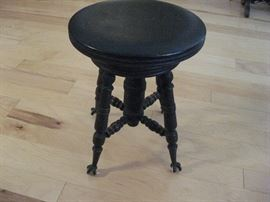 Antique Piano Stool...