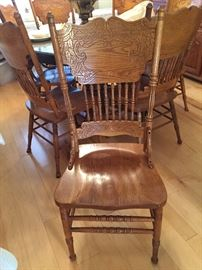 Eight Dining Room Chairs...