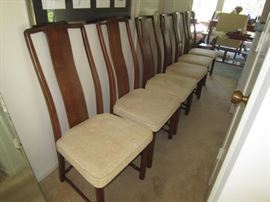6 Henredon dining chairs