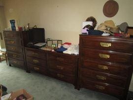 Davis Cabinet chests and dresser