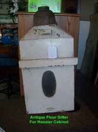 Antique Flour Sifter for Hoosier Cabinet