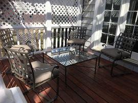 Crate & Barrel patio furniture