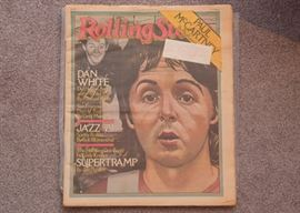 Paul McCartney Rolling Stone Magazine 1979