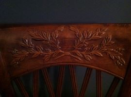 detail on chairs