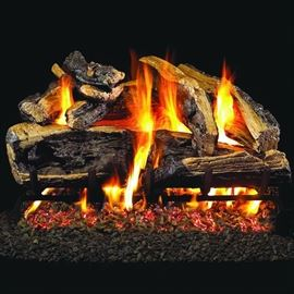 Propane fireplaces logs x2 can be converted to Natural Gas