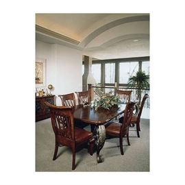 Formal Dining table 8 chairs  (2 Captain Chairs not shown)