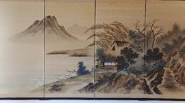 Authentic Silk wall hanging screen