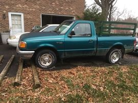 1996 FORD RANGER PICKUP, ONLY 134,000 MILES