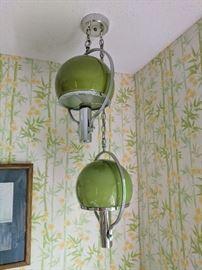Mid century light fixture