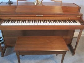 Baldwin piano & bench