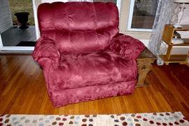 La-Z-boy boy chair & a half