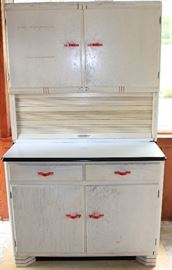 Sellers vintage Hoosier style cabinet