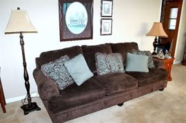 Nice plush upholstered sofa from Ashley Furniture