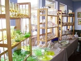 Loads of pretty, collectible glassware - all priced fairly to sell