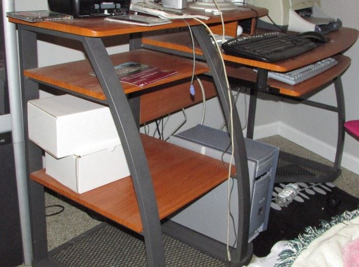 Nice computer desk available, computer not for sale