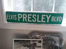 "We have ""Elvis Presley Blvd"" here...well not everything, but a good selection. More pictures to be posted!"