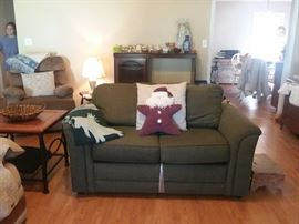 Loveseat sofa bed, new