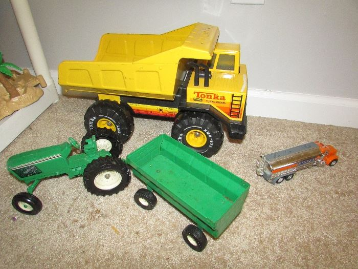 Green tractor sold