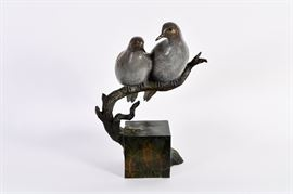 Lot #6 James Eppler Bronze Sculpture with a Starting Bid of $500