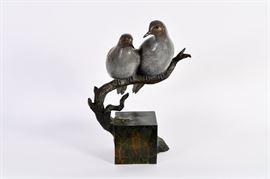 Lot #6 James Eppler Bronze Sculpture with a Starting Bid of $500