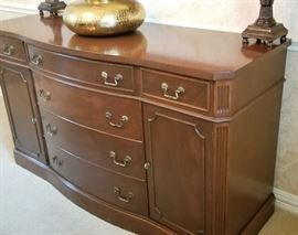 Beautiful Mahogany Buffet