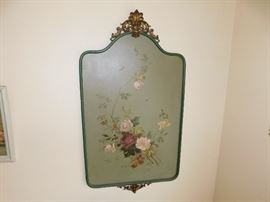 floral hand painted home decor