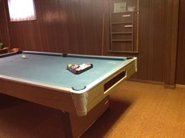 Pool table and parts Only 75.00